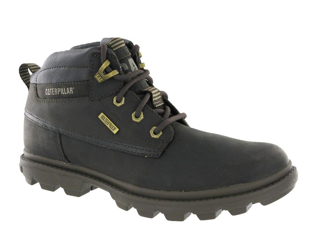 Caterpillar-CAT-Grady-Leather-Waterproof-Hiking-Walking-Boots-Seal-Brown-6-12