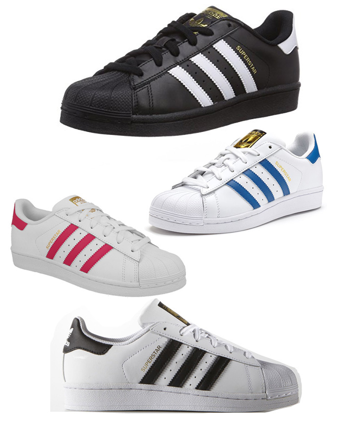 Sale - Superstar Lace-Up Leather Trainers - Adidas adidas WRiwv0pw