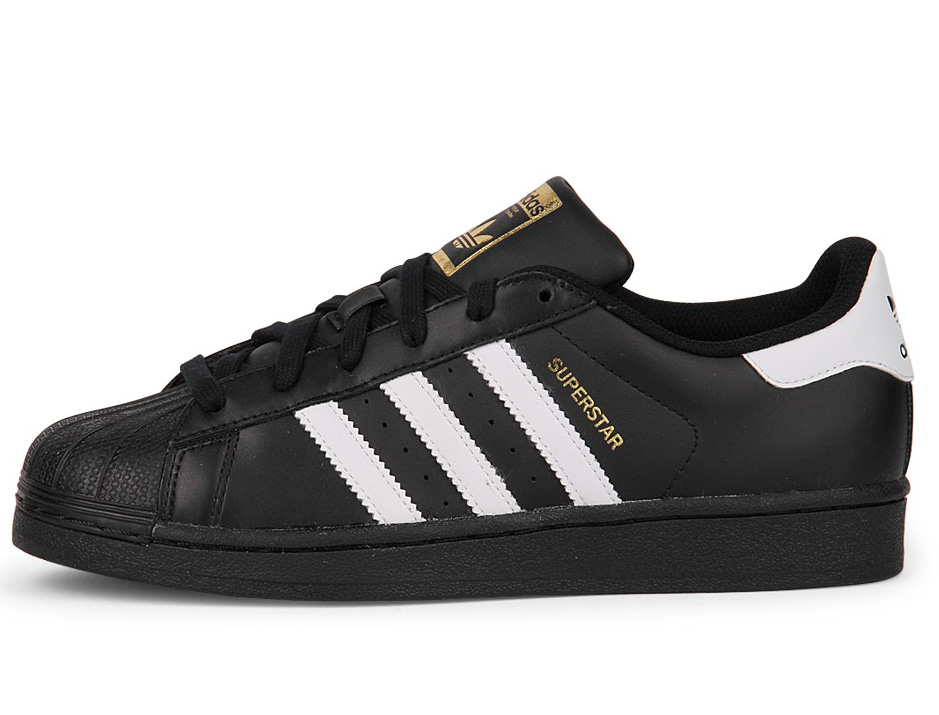 Adidas Superstar Black Laces