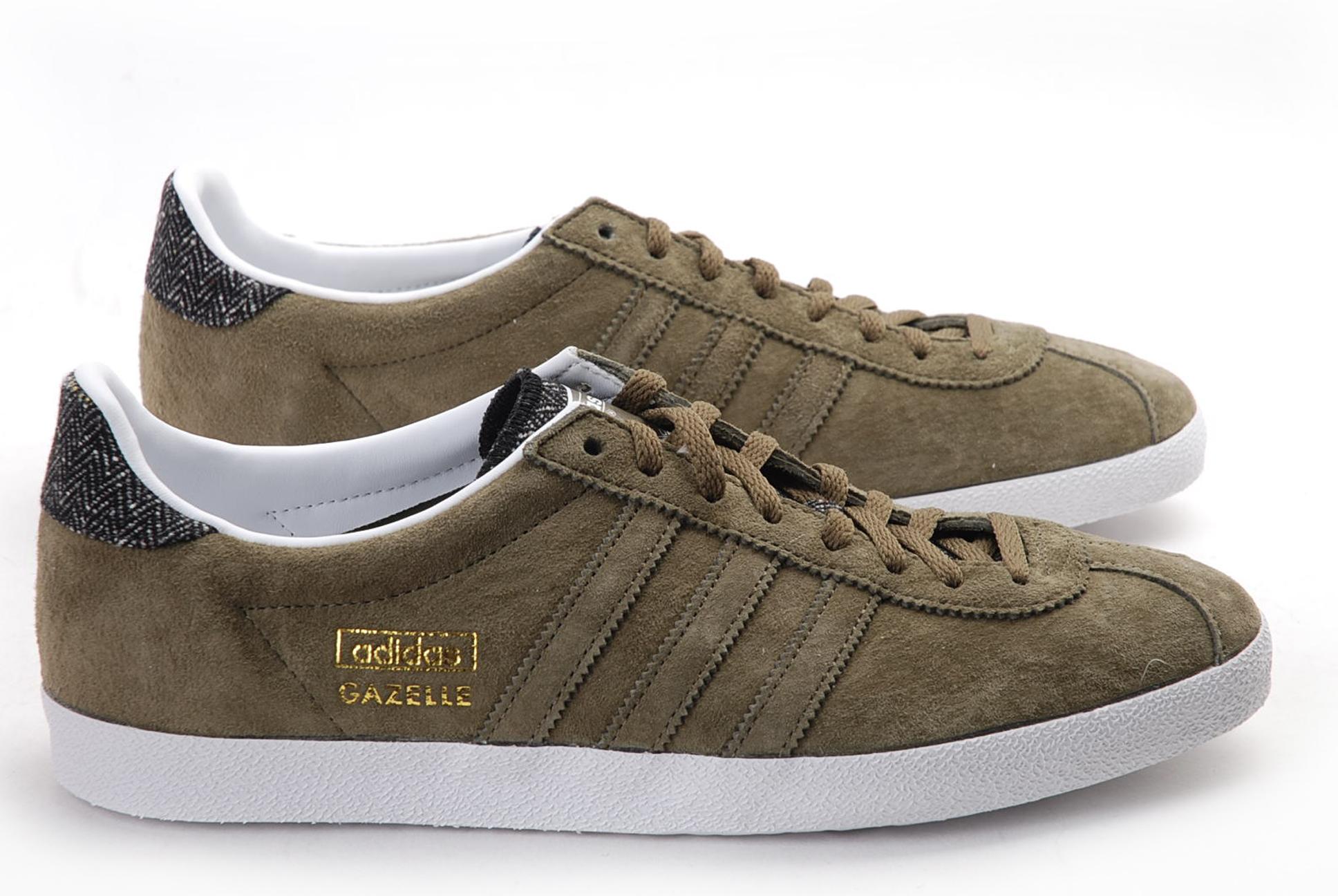 Og Gazelle Nuevo Originals Hombres Cuero Casual Smart Adidas Para HIDE92