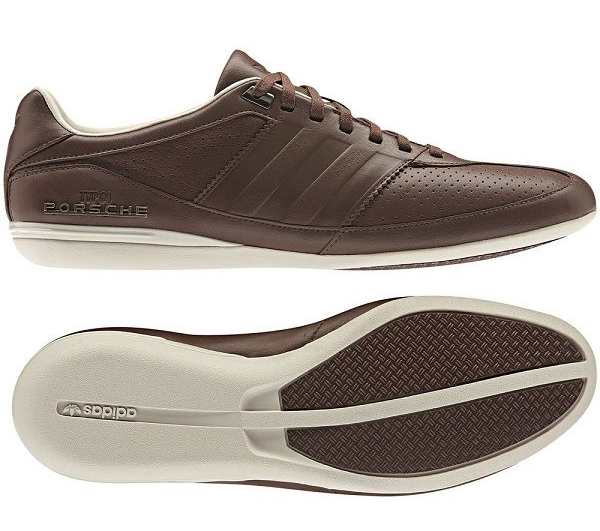 new mens adidas porsche typ 64 brown leather designer. Black Bedroom Furniture Sets. Home Design Ideas