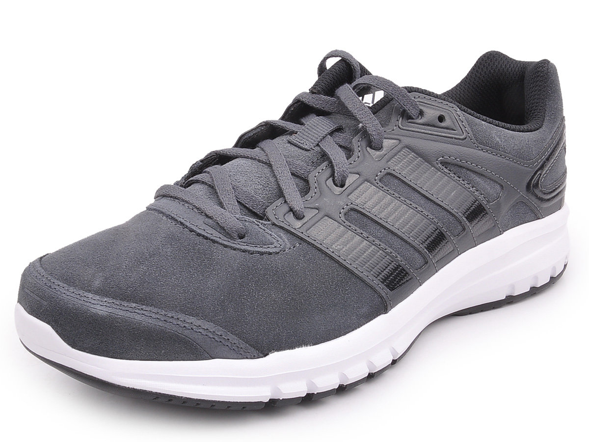 Mens Adidas Duramo 6 Leather Sports Running Shoes Fitness