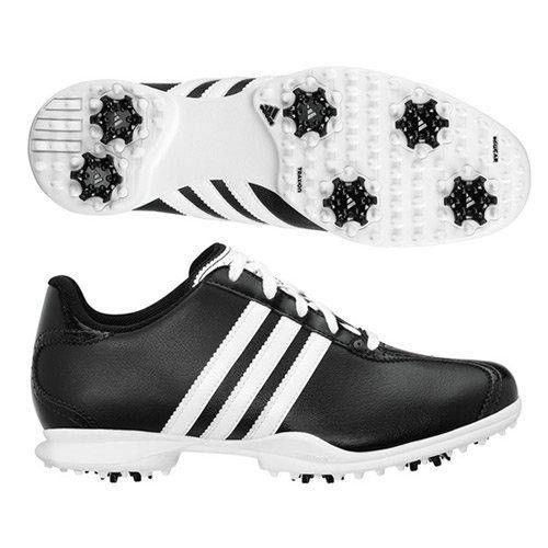 New-Womens-Adidas-Driver-May-Black-White-Leather-