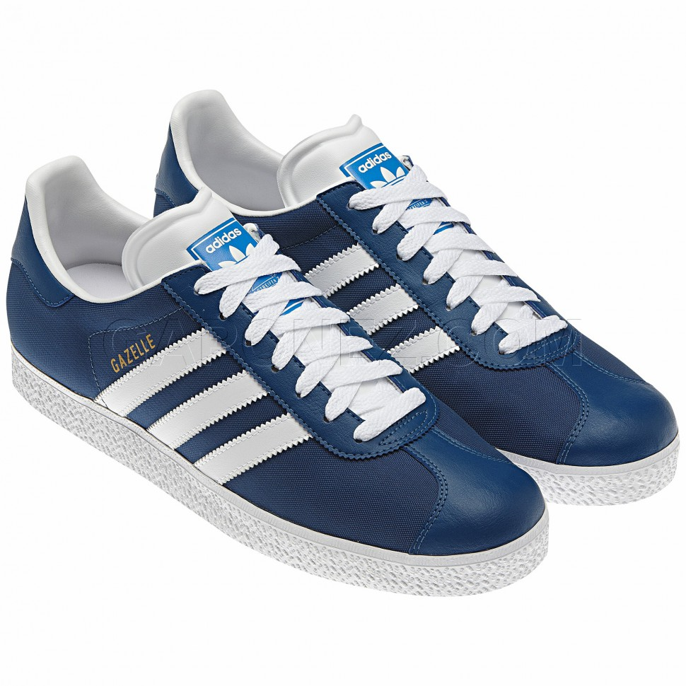 new mens adidas gazelle 2 blue originals smart casual