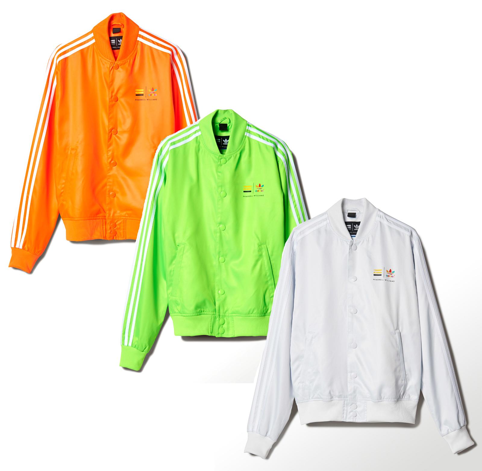 new adidas originals pharrell williams tracksuit tops track jackets bomber coat ebay. Black Bedroom Furniture Sets. Home Design Ideas