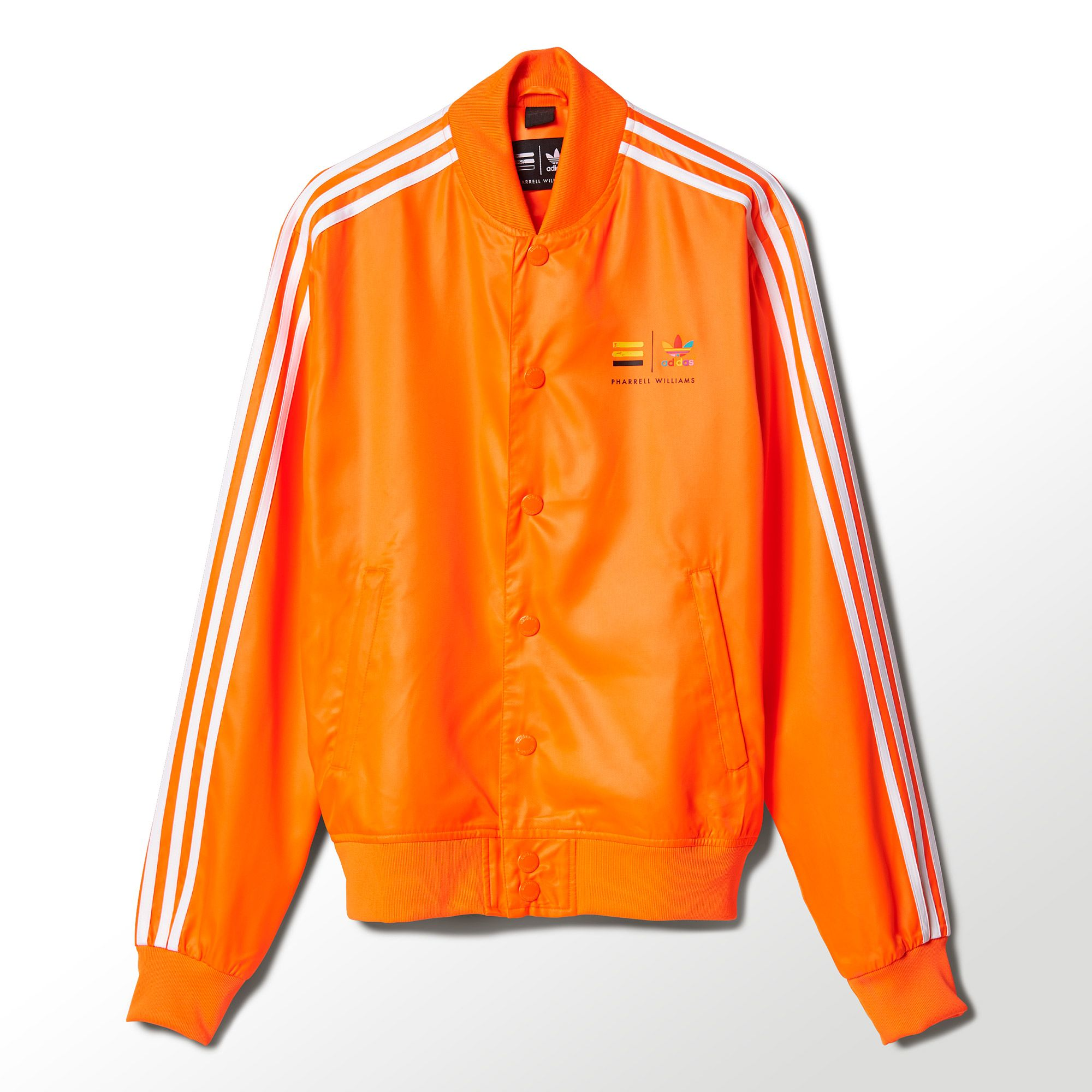 adidas sweatsuit Orange