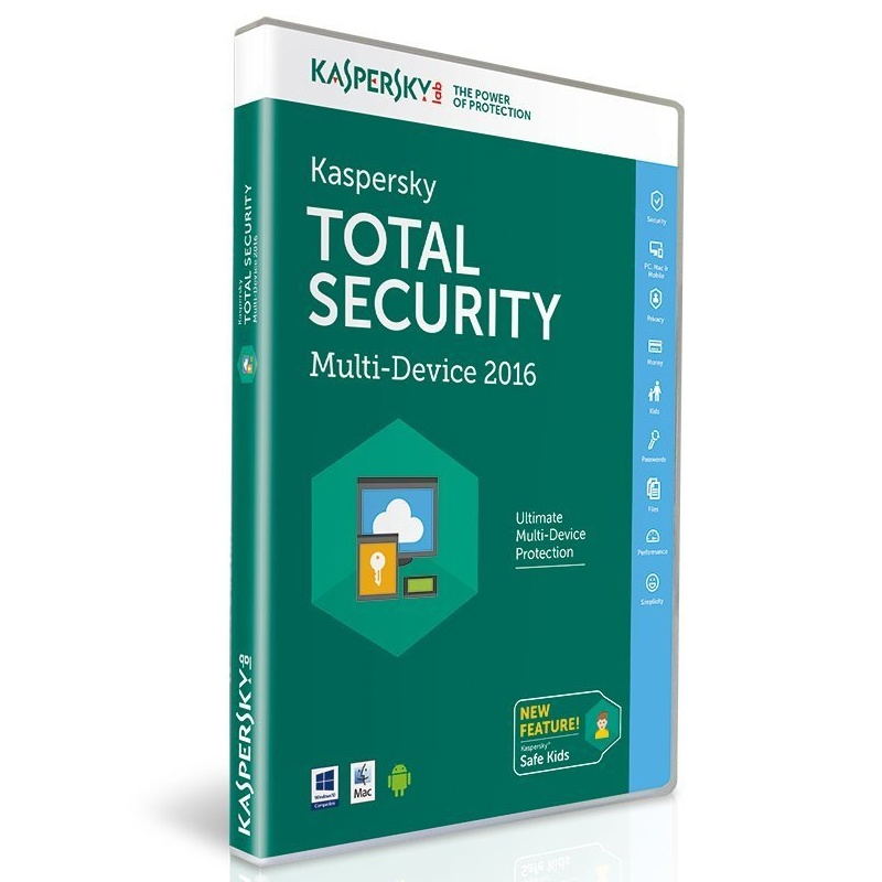 kaspersky total security 2016 multi device 1 year for pc. Black Bedroom Furniture Sets. Home Design Ideas