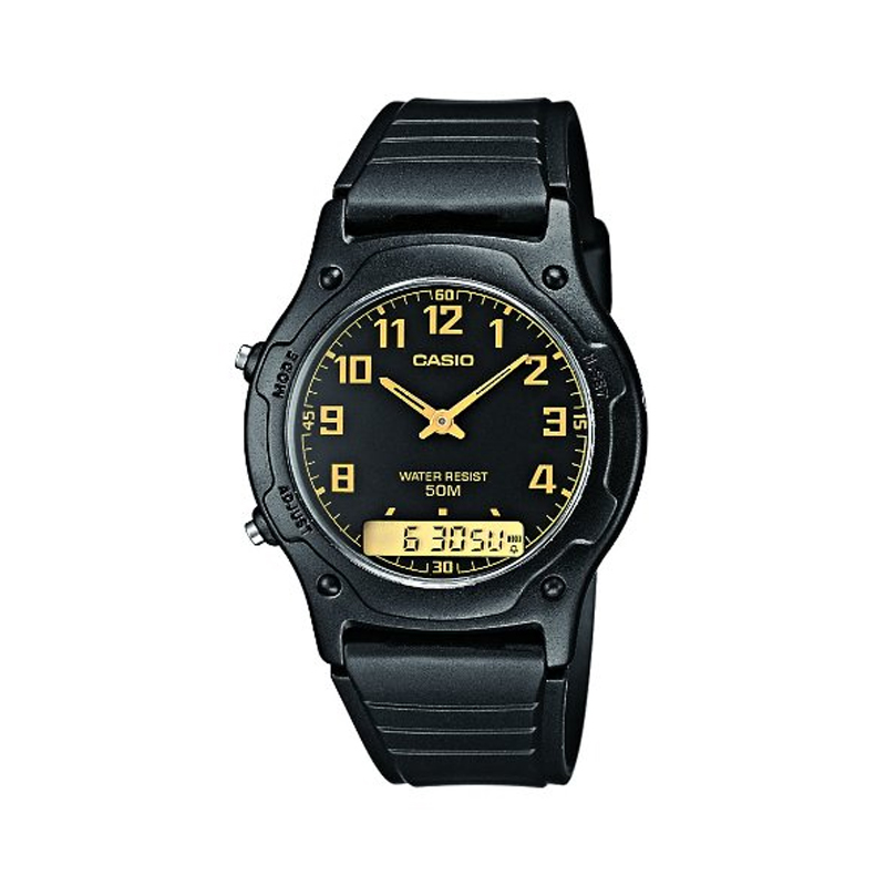 casio aw49h1bv mens analogue digital wrist watch for
