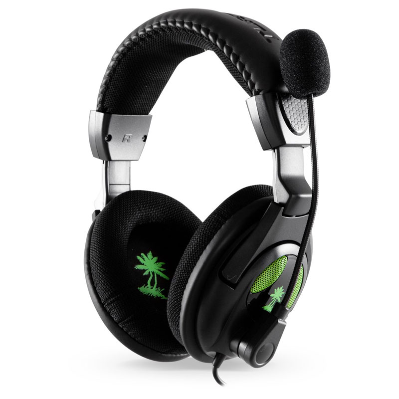 how to connect turtle beach wired headset to xbox 360