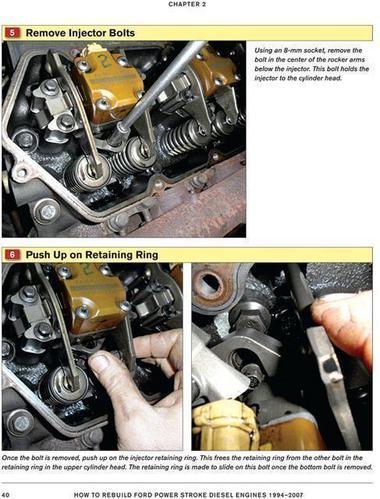 rebuild ford f 150 f 250 f 350 power stroke diesel engines 6 0 7 3 1994 2007 ebay. Black Bedroom Furniture Sets. Home Design Ideas