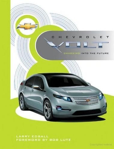 Chevrolet Volt Charging into the Future design concept electric car chevy