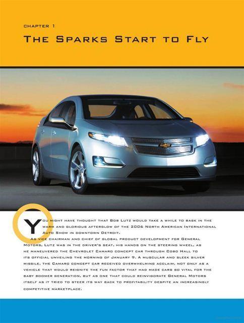 """NEW"" Chevrolet Volt Charging into the Future design ..."