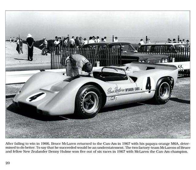 Can Am Racing Cars McLaren BRM Lola March Shadow Sixties