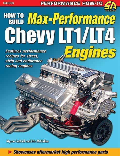 Chevy Lt1 Lt4 Engine Max Performance Book Camaro Z28 Ss 1993 1994 1995 1996 1997