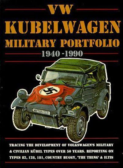 Types Of Jeeps >> VOLKSWAGEN VW KUBELWAGEN MILITARY 1940-90 The Thing BOOK