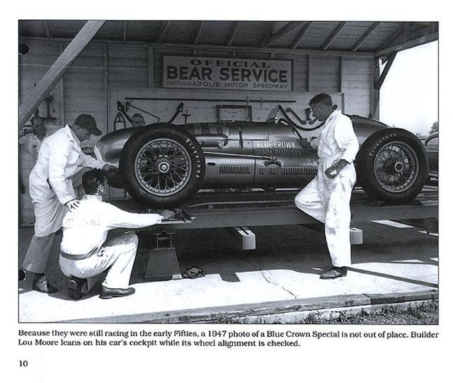 Indy Cars Of The 1950s INDIANAPOLIS 500 RACING RACE ISBN