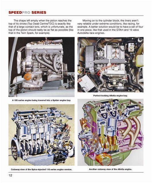 alfa romeo dohc engine manual book high performance shop ... alfa romeo engine diagram 1990 alfa romeo wiring diagram #14