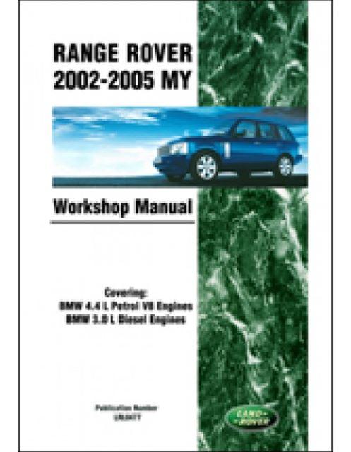 Official Workshop Service Repair Manual Land Rover Range Manual Guide