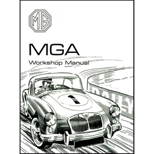 mga repair shop manual 1955 1956 1957 1958 1959 1960 1961