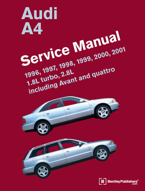 Audi a4 b5 service repair manual 1996 2001 1 8l turbo 2 for Mercedes benz b5 service