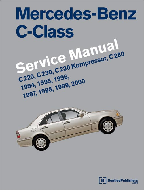 Mercedes benz c class 1994 2000 w202 service workshop for Mercedes benz online repair manual