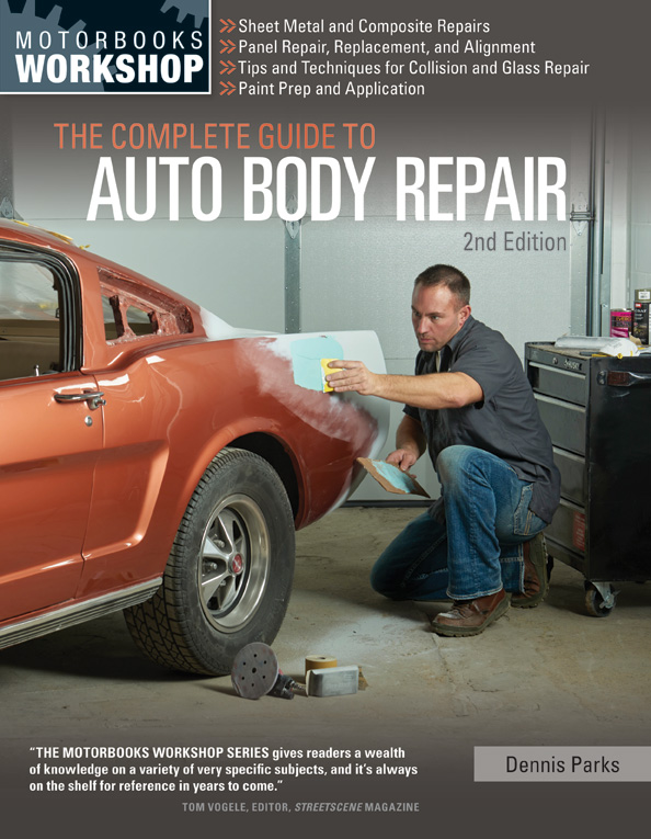 Complete guide to auto body repair manual book ebay for Bureau automotive repair