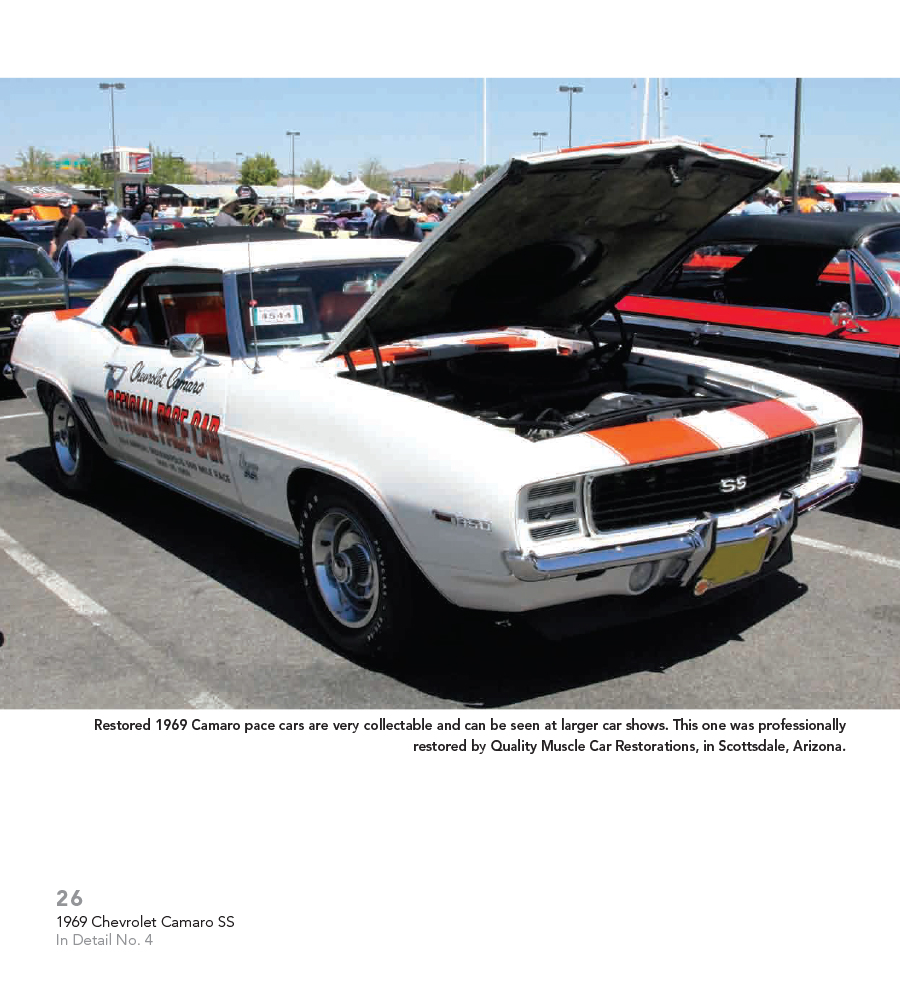 Chevrolet Camaro Ss Muscle Cars In Detail No Book Chevy Ebay