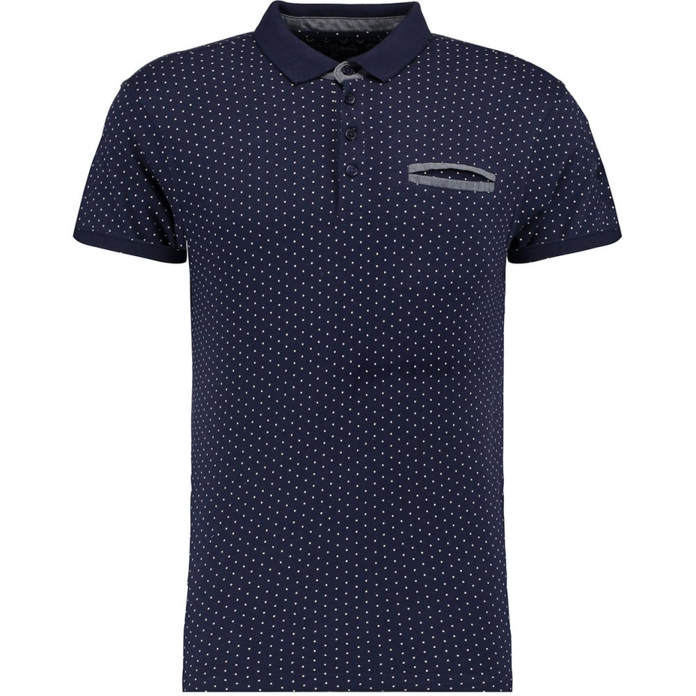 Ts heritage mens polka dot chest pocket short sleeve for Mens polka dot shirt short sleeve
