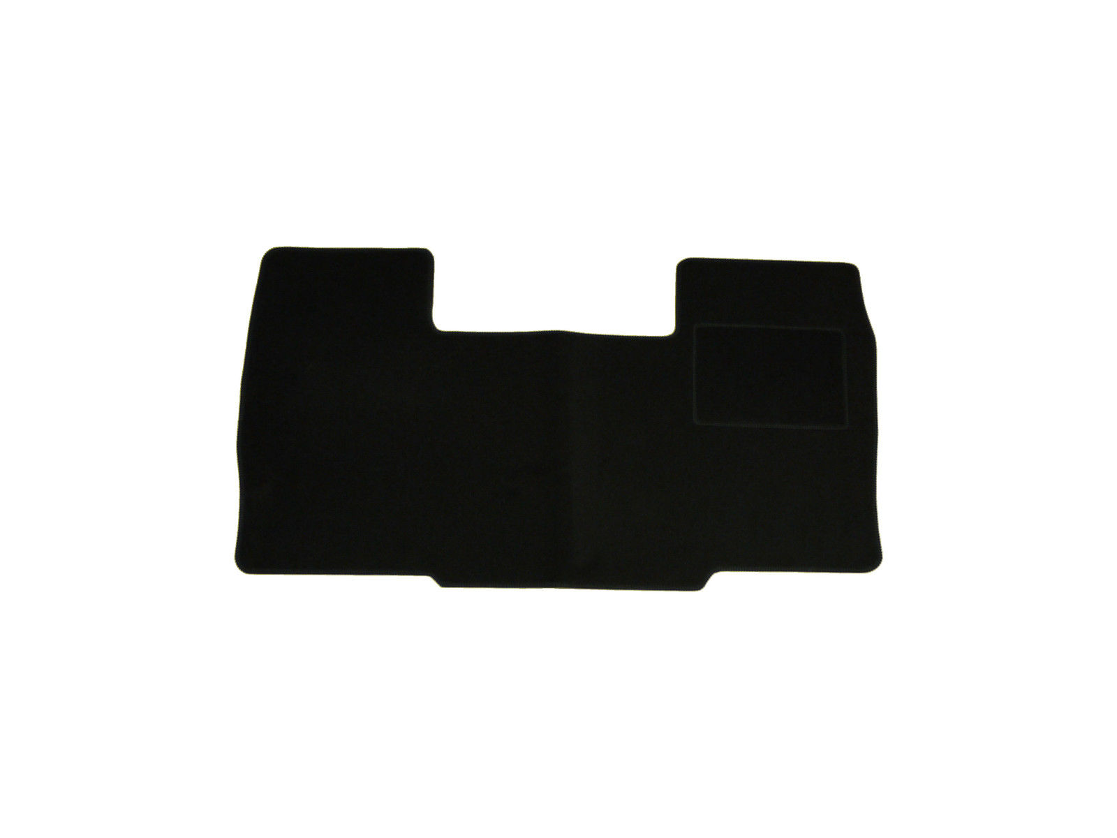 Black carpet floor mat 1 piece fully tailored fit set for for 1 piece floor mats
