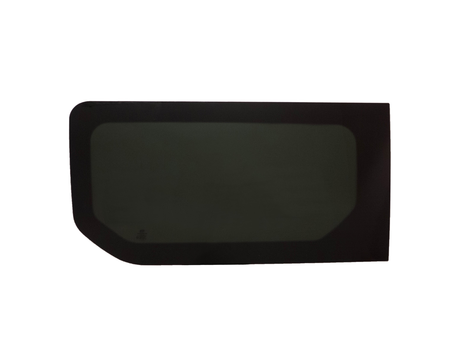 Left hand side fixed window in dark tint for renault for 14 window tint