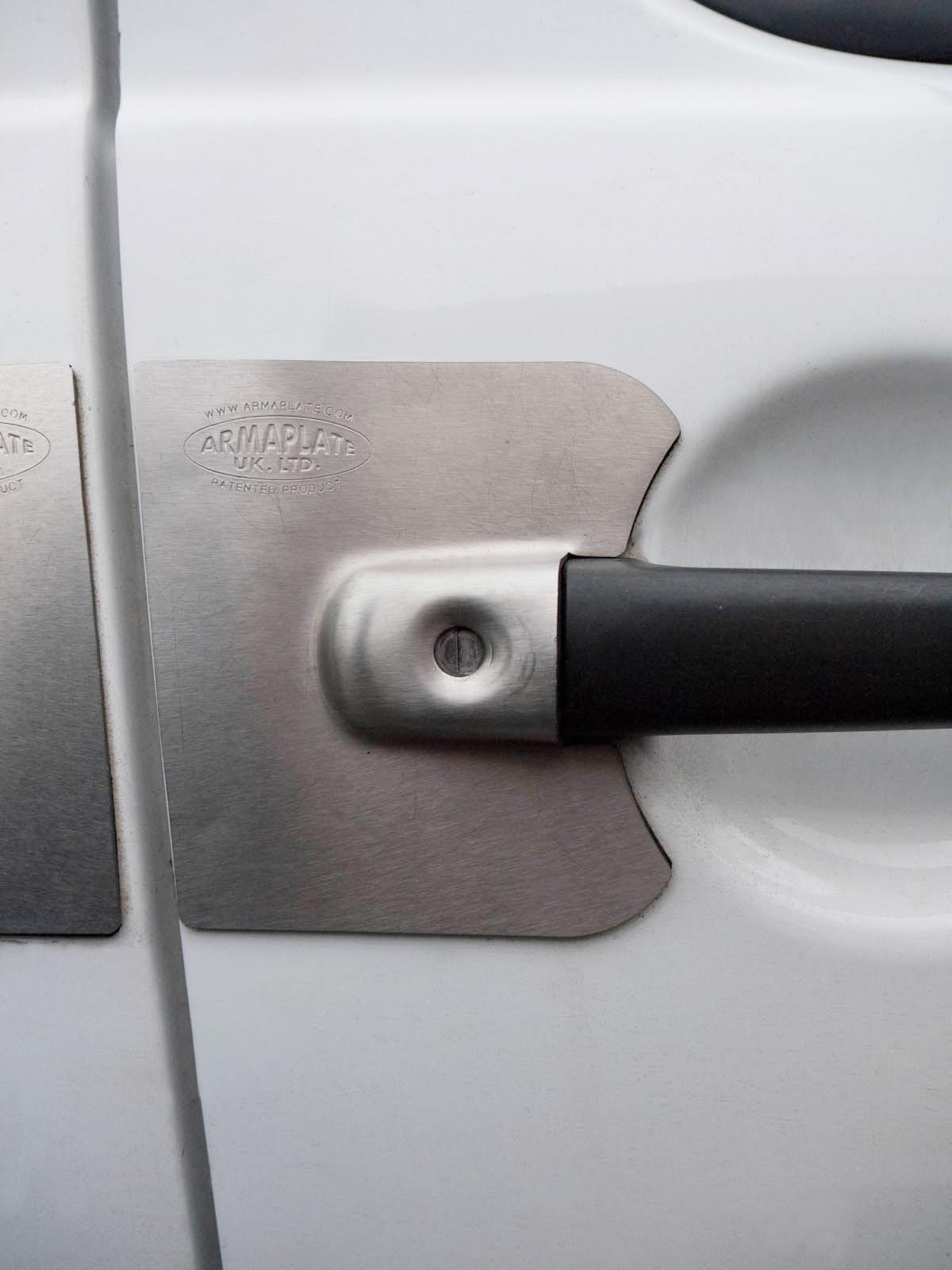 Armaplate Guardian 5 Door Lock Protection Plates Kit For Peugeot Expert 07 16 Ebay