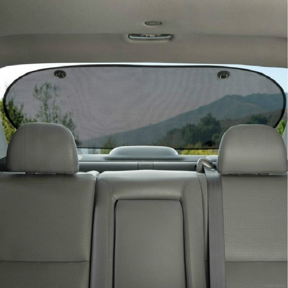 car rear window sun shade blind suction cup fit screen dog children protection ebay. Black Bedroom Furniture Sets. Home Design Ideas