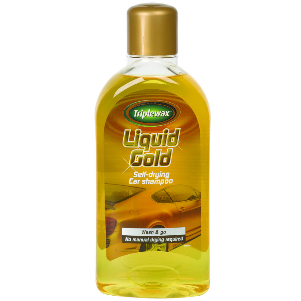 triplewax liquid gold self drying car shampoo wash go no drying needed 1 litre ebay. Black Bedroom Furniture Sets. Home Design Ideas
