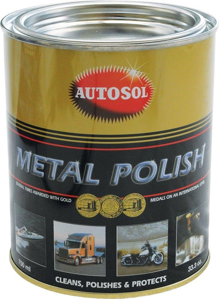autosol metal polish paste in large 750ml tin 0402. Black Bedroom Furniture Sets. Home Design Ideas