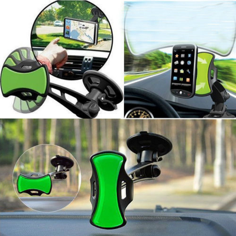 QI Wireless Charger Vehicle Dock Air Vent Mount Phone