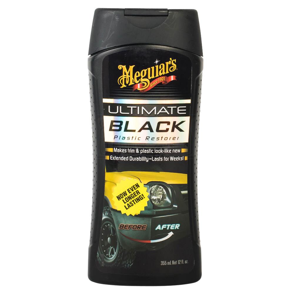 meguiars ultimate black plastic restorer trim shine vehicle interior exterior ebay. Black Bedroom Furniture Sets. Home Design Ideas