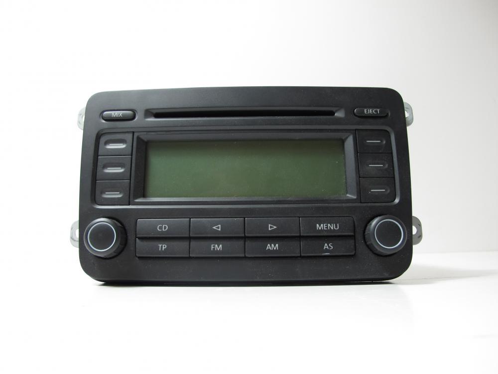 genuine vw volkswagen golf mk5 stereo radio cd audio head. Black Bedroom Furniture Sets. Home Design Ideas