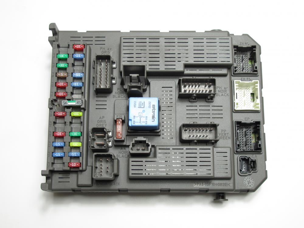 Peugeot 807 Fuse Box Location