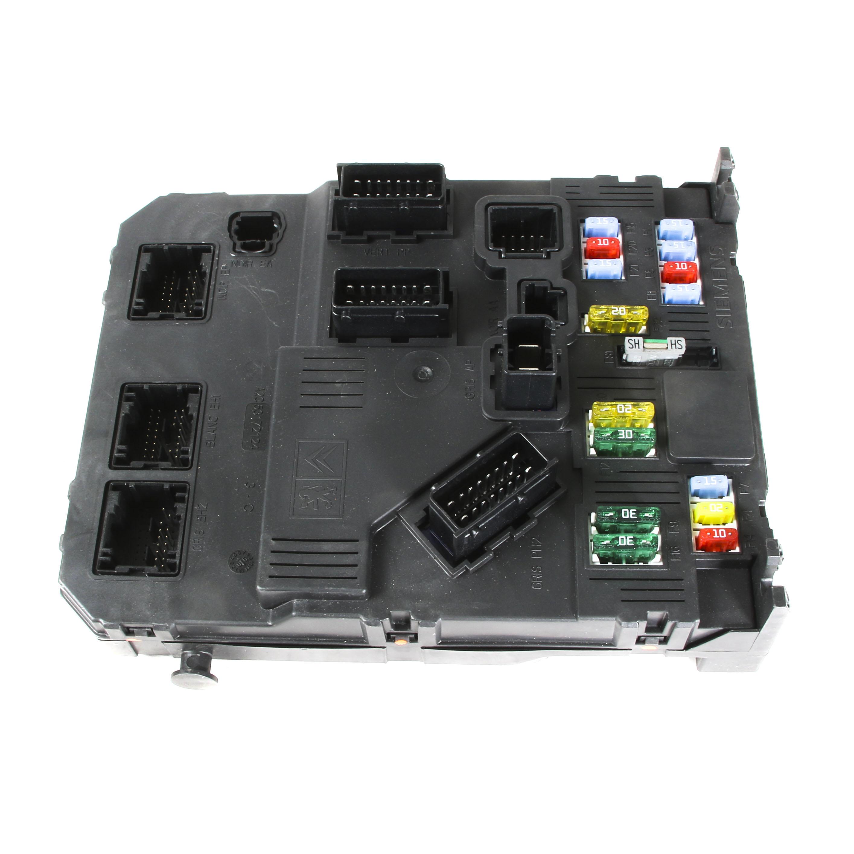 Peugeot 206 Fuse Box Where Auto Electrical Wiring Diagram 307 2007 Genuine Siemens Bsi 658065 6580fp