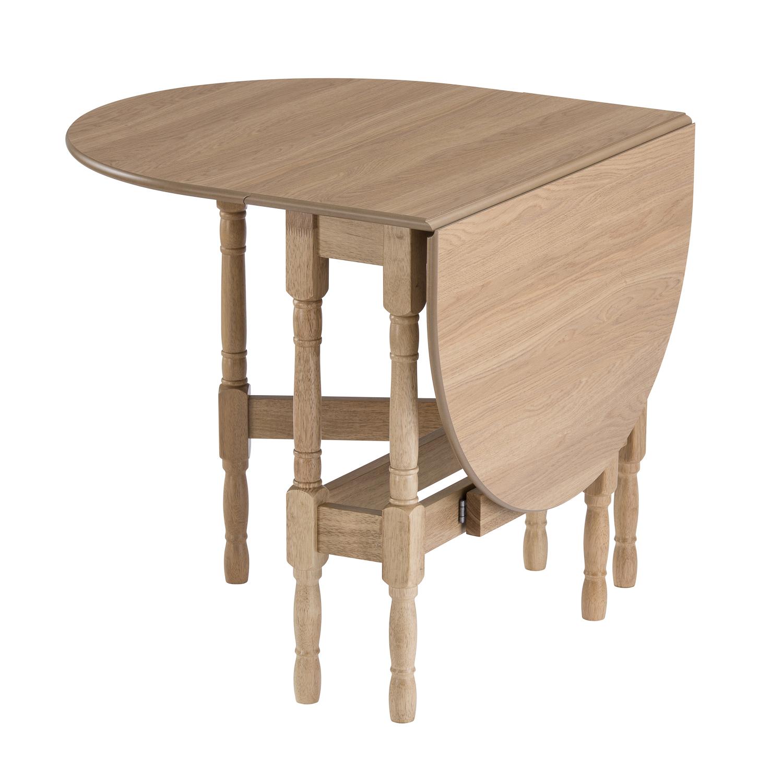 drop leaf table heatproof folding dining kitchen gateleg oak oval