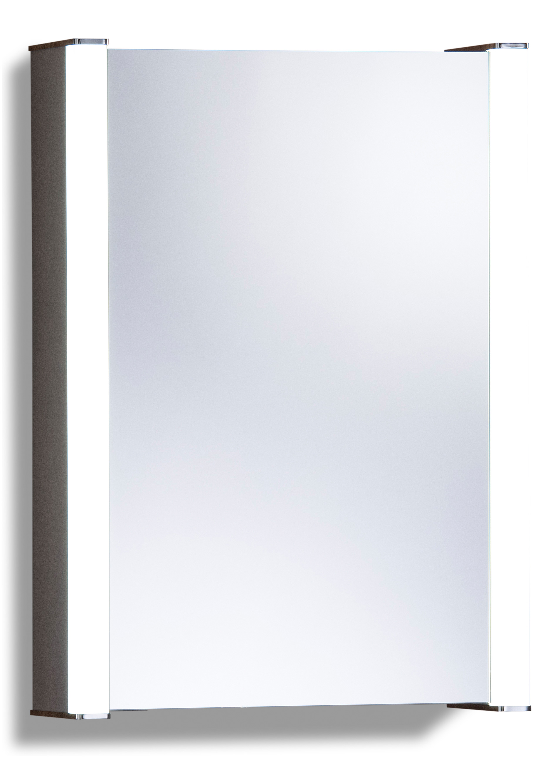 led illuminated bathroom mirror cabinet with demister shaver sensor