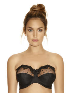 Brand New Fantasie Samantha Strapless Bra, All Sizes,  Two Colours - FL2270