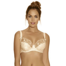 Brand New Fantasie Vivienne Underwired Side-Support Plunge Bra, Latte - FL2112