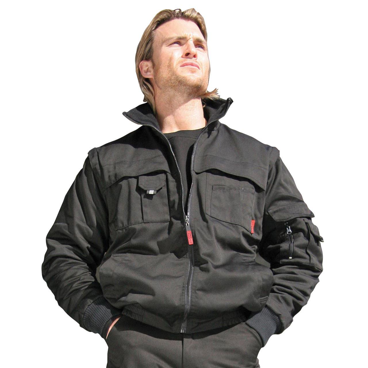 Blackrock Snowdon Men Work Jacket Multipocket Micro Fleece ...