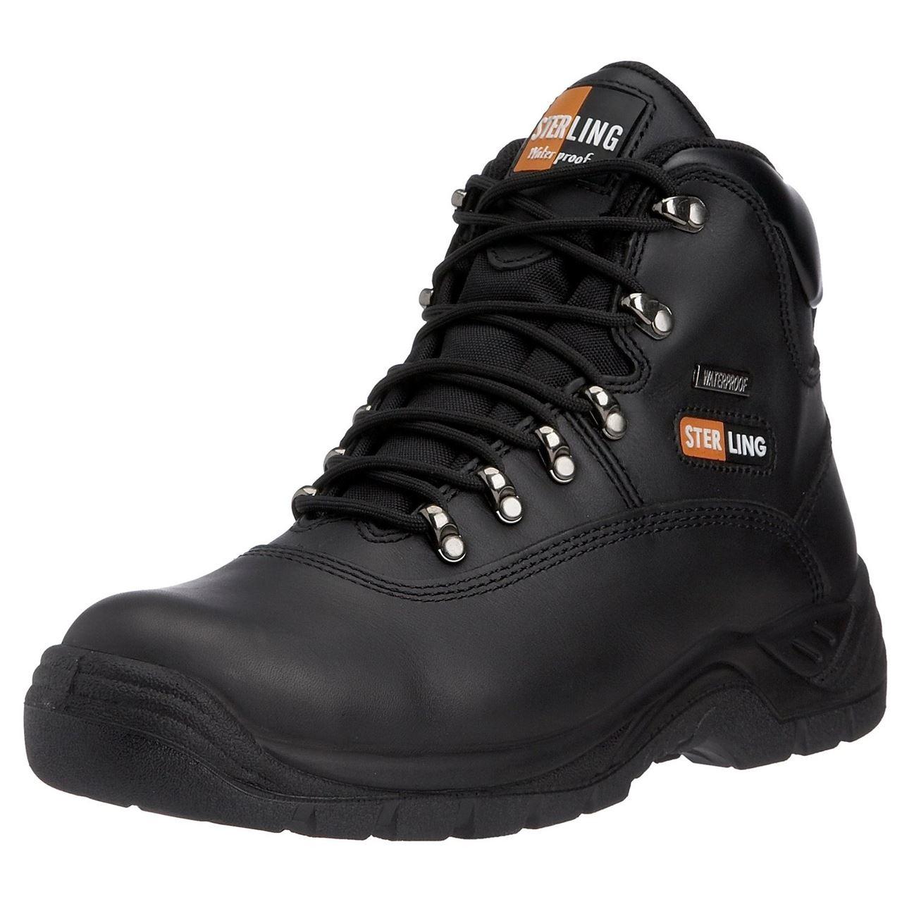 sterling unisex safety hiker boot waterproof steel toe cap