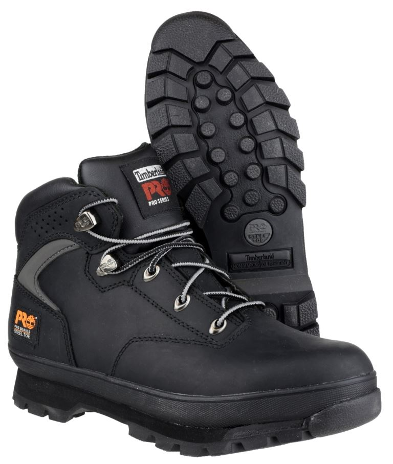 Timberland Pro New Euro Hiker Safety Boots Steel Toe Cap &amp ...