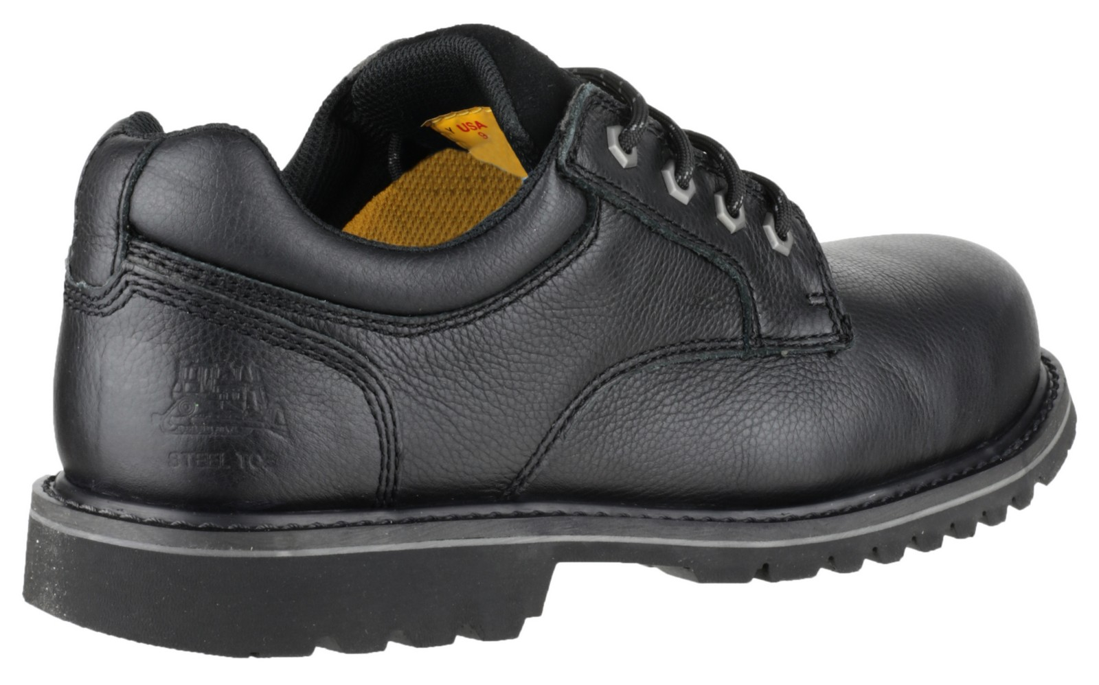 Caterpillar CAT Electric Lo Mens Lace-up Leather Safety ...