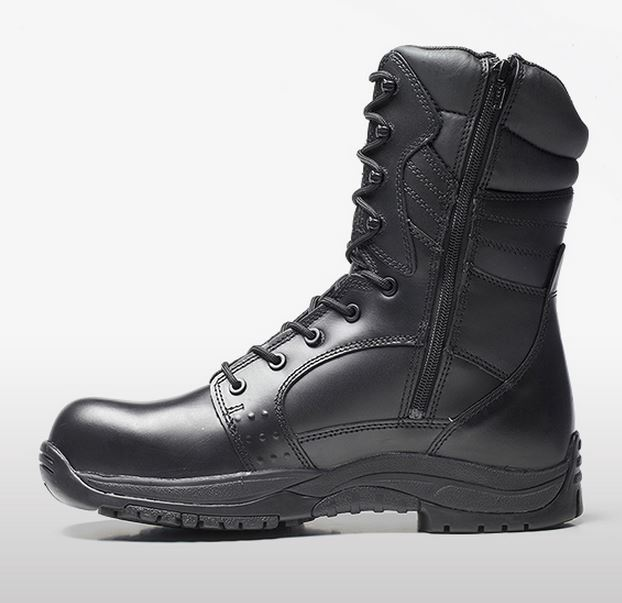 V12 Invincible Black High Leg Waterproof S3 Safety Boot