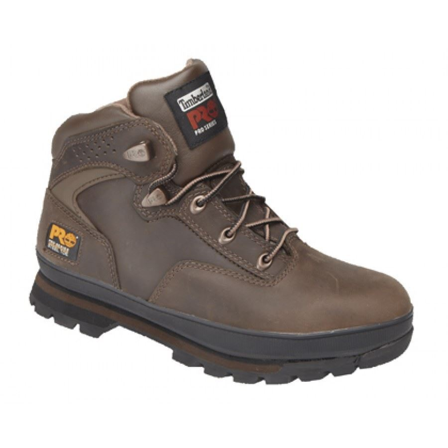 Timberland Pro New Euro Hiker Safety Boots Black, Brown