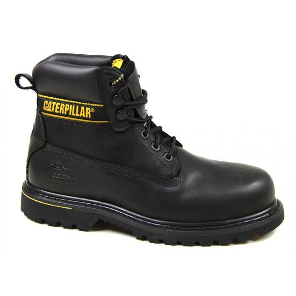 caterpillar holton safety boot sb slip resistant steel toe